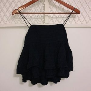 URBAN OUTFITTERS Layered Peplum Top